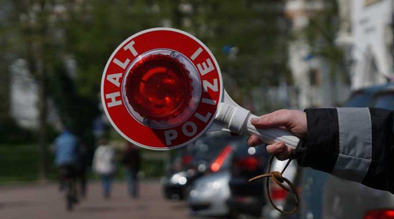 Verkehrskontrollen zur Bekämpfung von Hauptunfallursachen