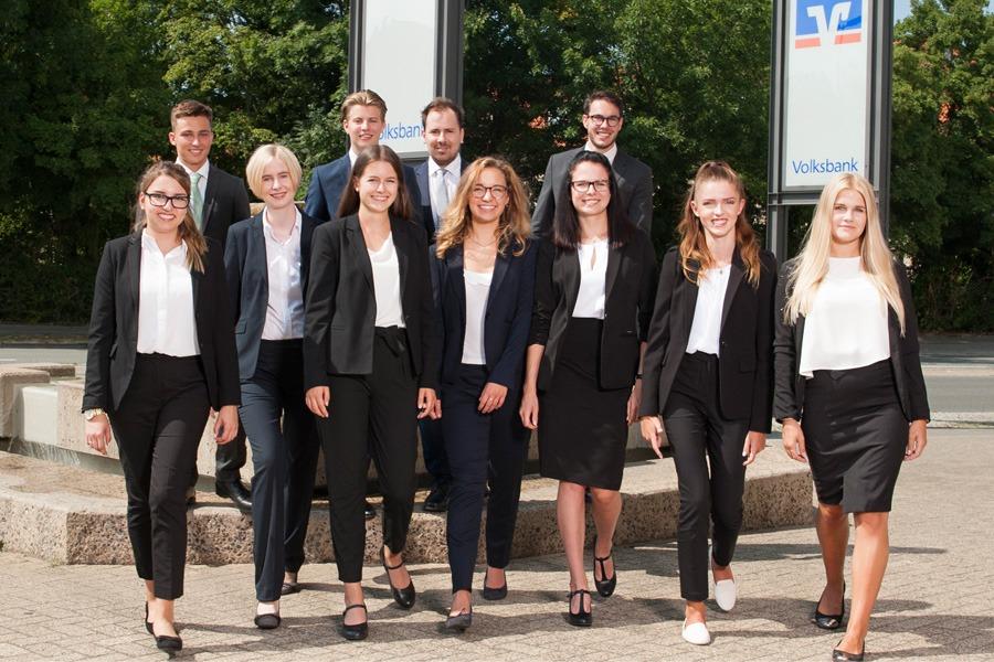 Start In Das Berufsleben Volksbank Eg Begrüßt Neue Auszubildende