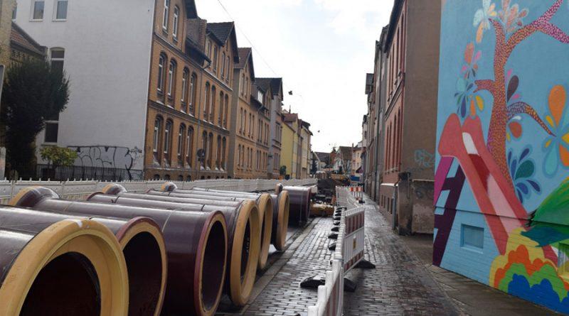 Informationen zur Baustelle Roonstraße