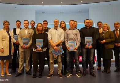 Handwerkskammer ehrte am 26. Januar 2019 die 49 besten Gesell*innen aus den Landkreisen Göttingen, Hildesheim, Holzminden und Northeim