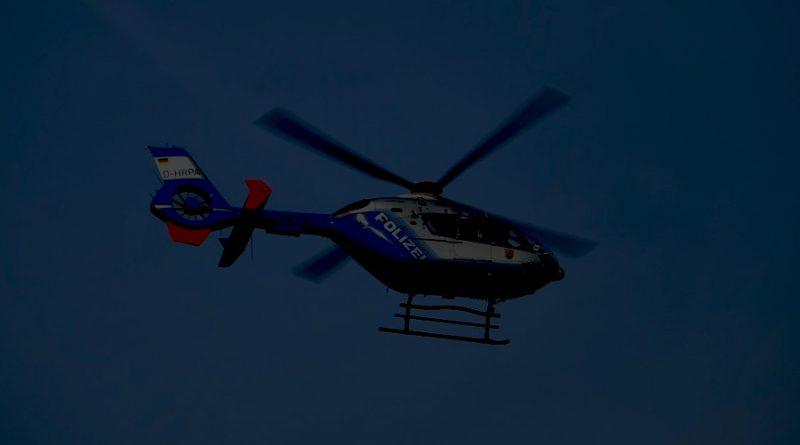 Polizeihubschrauber durch Laserpointer geblendet