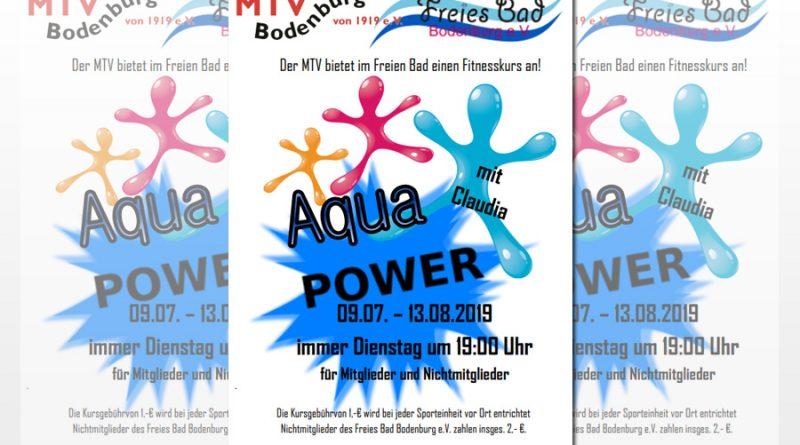 ba80addbe01c4a Aqua Power – Es geht wieder los