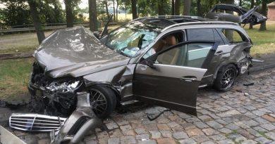 Unfall auf der A7- hoher Sachschaden