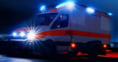 Verkehrsunfall mit schwerverletzter Person auf der Bundesstraße 3
