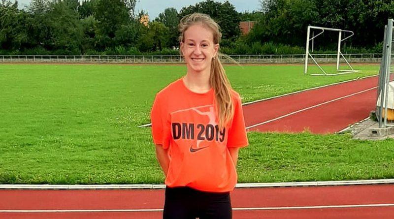 TKJ-Leichtathletin startet bei Deutscher Meisterschaft der U16 in Lage Emily Pischke glänzt im Blockwettkampf Sprint/Sprung