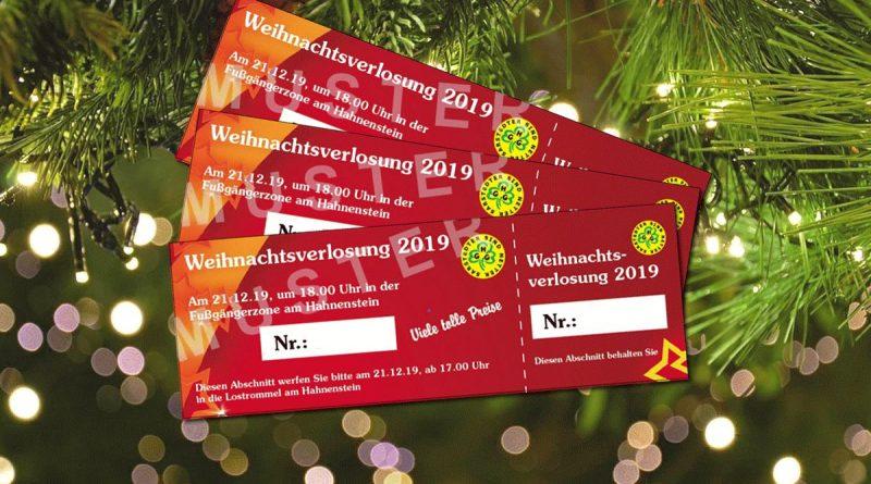 GHG-Weihnachtsverlosung vierten Adventssamstag