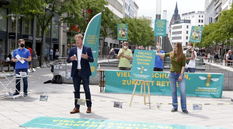 Volksbegehren Artenvielfalt startet Unterschriftensammlung